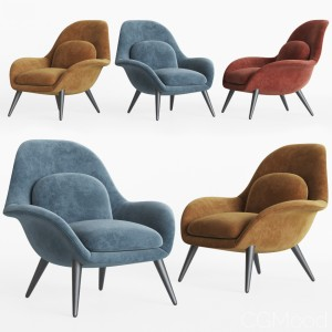 Swoon Lounge - Fredericia Furniture