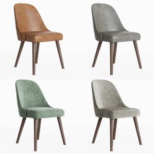 West Elm Mid-century Chair Wallnut Legs