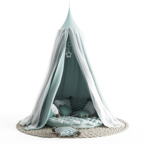 Nursery canopy decorative set # 1