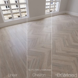Parquet Natural, Oak Toronto, 3 Types.