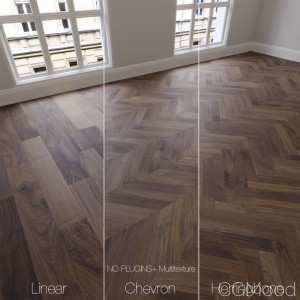 Parquet Natural, American Walnut, 3 Types