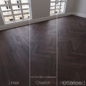Parquet Natural, Oak Smoky Mountains, 3 Types.