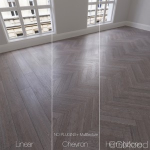 Parquet natural, oak Flint, 3 types.