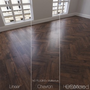 Parquet natural, oak Calypso, 3 types.