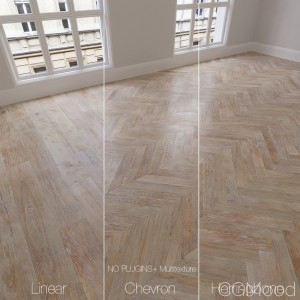 Parquet natural, oak Scandinavian, 3 types.