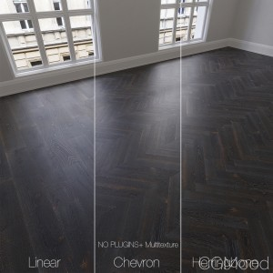 Parquet Natural, Oak Night, 3 Types