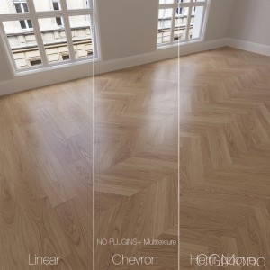 Parquet Natural, Oak Clean, 3 Types.