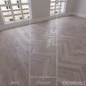 Parquet Natural, Oak Crystal, 3 Types.