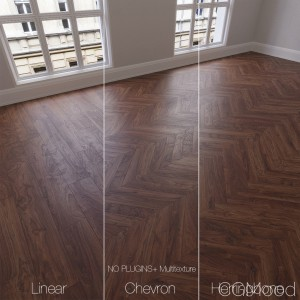 Parquet Natural, Walnut Bolivian, 3 Types.