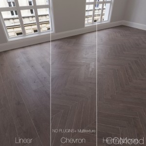 Parquet Natural, Oak Mature, 3 Types.