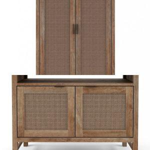 Furniture set Blake Grey Whash - Crete&Barrel