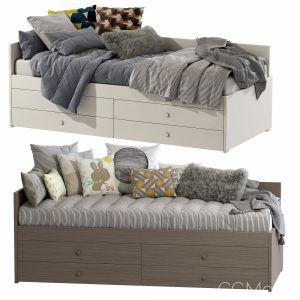 Children's Bed Nuk / Nidi Set 55