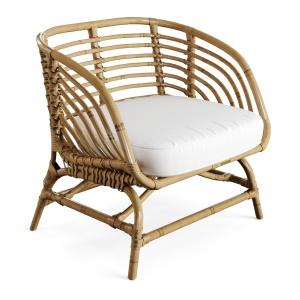 Armchair Rattan Bamboo Ikea Buskbua A Fredriksson