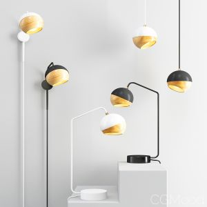 Ray Pendant Lights - Black And White