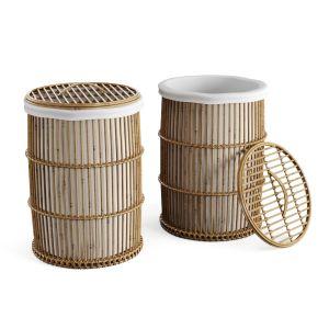Furniture Storage Rattan Libby Safavieh