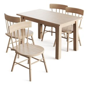 Tables And Chairs With 4 Seats Norrarid Norrarid