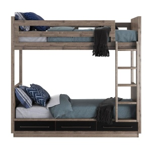 Rh Colbin Storage Bunk Bed
