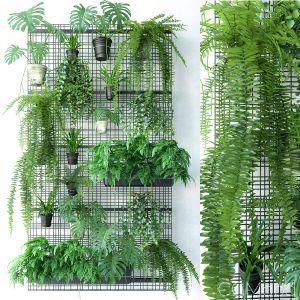 Wall Grid Plant Pot