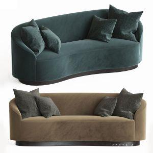Petite Curved Sofa