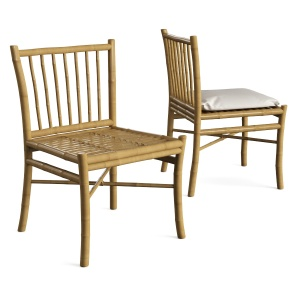 Tine K Home Bamboo Dining Room Chair