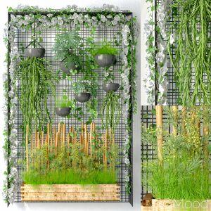Wall Grid Plant Pot 4