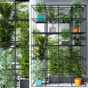 Wall Grid Plant Pot 7