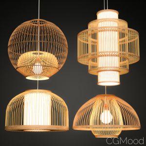 Bamboo Lighting Set 2