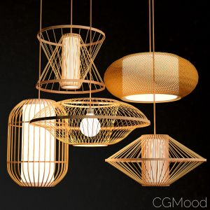 Bamboo Lighting Set 3