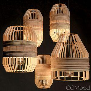 Wooden Lighting Set