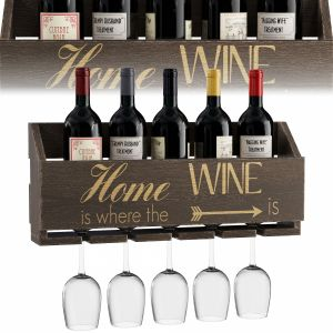 Gallatin Le Luxe Engraved Home Is Where 5 Bottle W