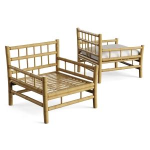 Tine K Home Bamboo Lounge Chair