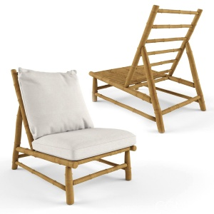 Tinekhome Tre Lounge Chair With Cushion