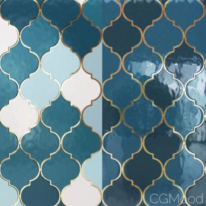 Moroccan Tiles 02