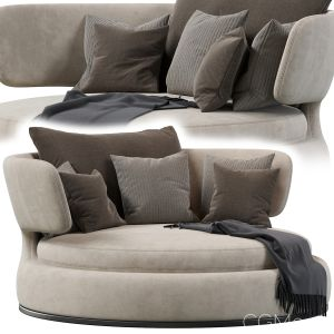Amoenus Soft Maxalto Swivel Sofa