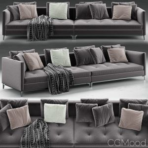 Andersen Slim 103 Quilt Sofa