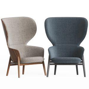 Hygge High Back Rocking Chair
