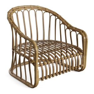 Natural Rattan Bamboo Chairs 1
