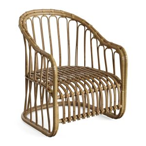 Natural Rattan Bamboo Chair 3