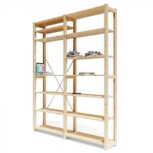 Lundia Classic Double Bookshelf