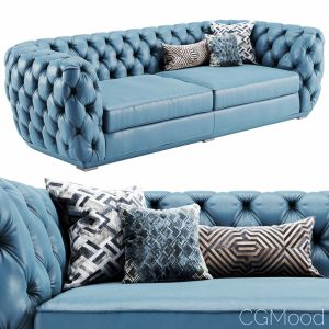 "Sofa King Chesterfild ""the Sofa And Chair Company"""