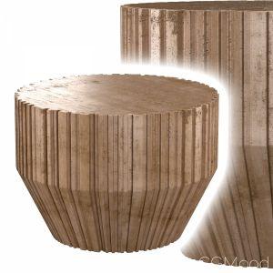 Primitive Concrete Side Table