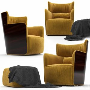 Flou Armchair Softwing Design Carlo Colombo