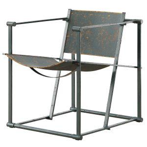 Model Fm60 Cubic Chair By Radboud Van Beekum For P