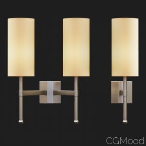 Tigermoth Lighting - Stem Wall Light With Silk