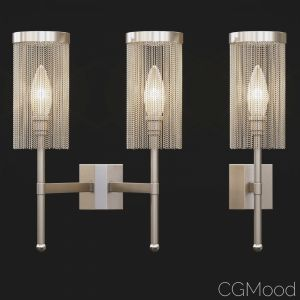 Tigermoth Lighting - Stem Wall Light With Chain