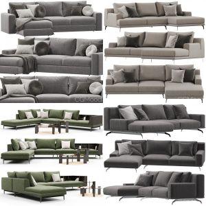 Ditre Italia sofa collection 1(6 models)