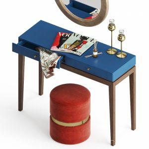DG-Home Static Amphi Dressing Table Set