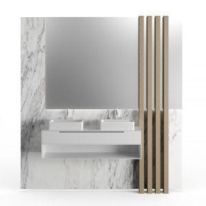 Strips Bathroom Cabinet