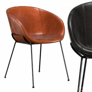 Lee Faux Leather Dining Armchair
