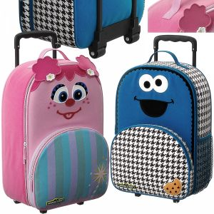 Sesame Street Luggage Model